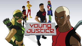 Netflix box art for Young Justice - Season 1